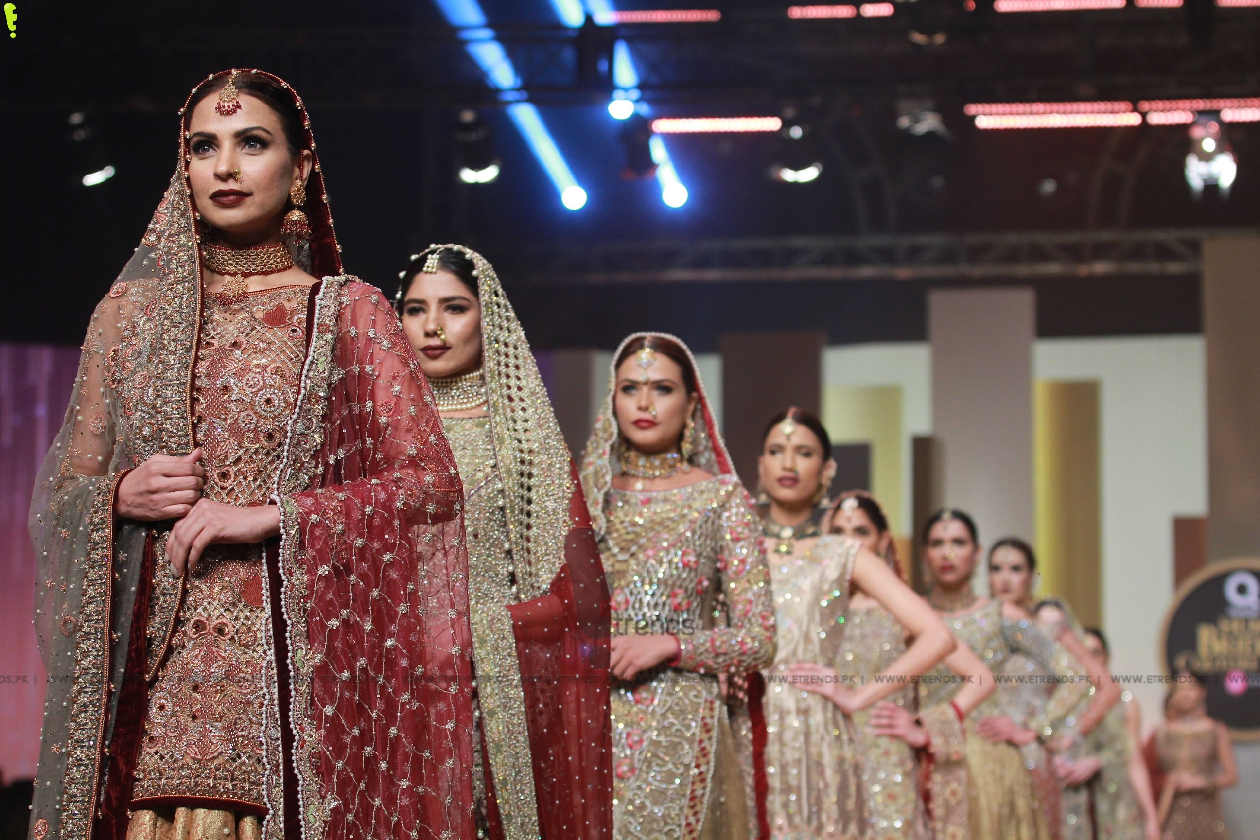 Faika Karim Collection at Hum Bridal Couture Week 2017