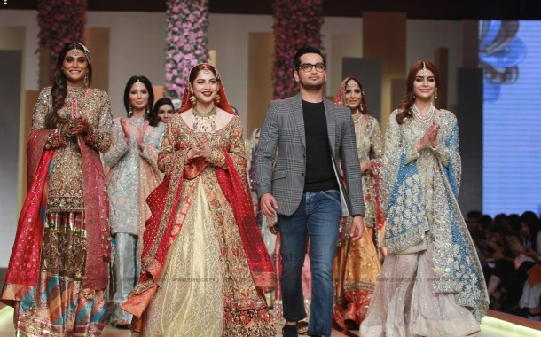 Annus Abrar Collection at Hum Bridal Couture Week 2017