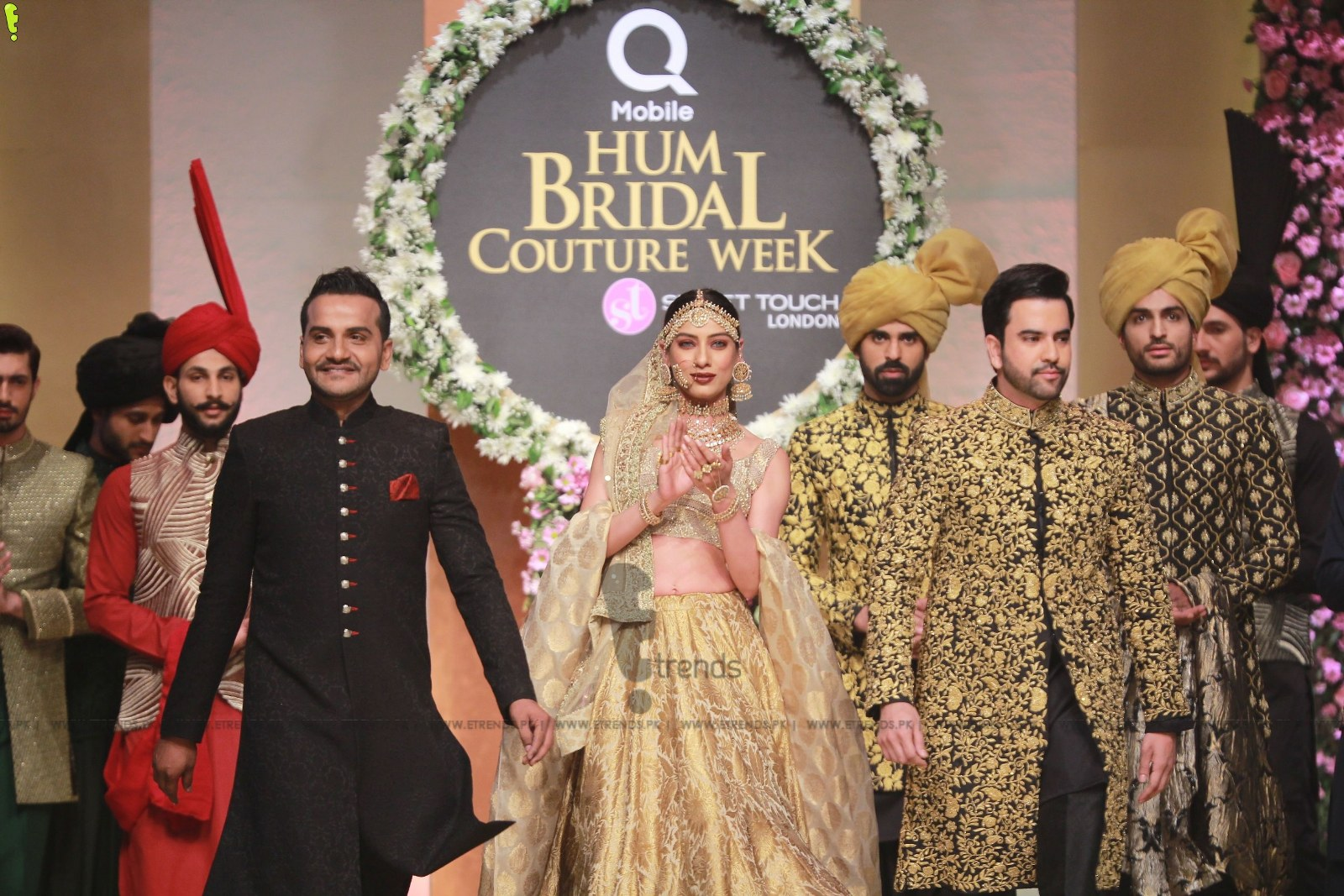 Emraan Rajput Collection at Hum Bridal Couture Week 2017