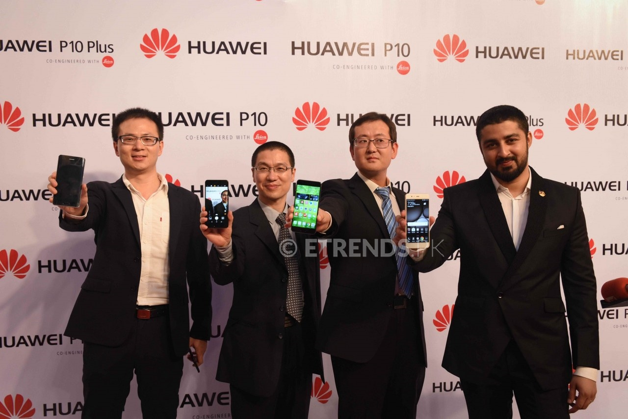 Huawei launches new phones P10, P10 Plus