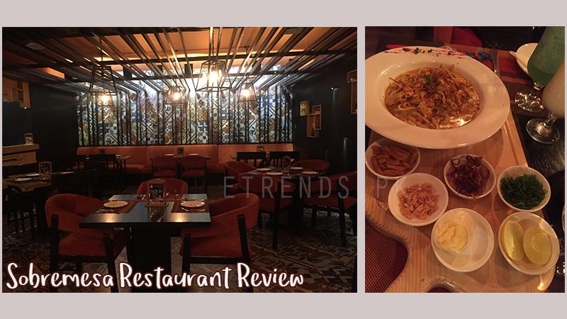 Sobremesa restaurant Review - DHA Phase 6 Karachi