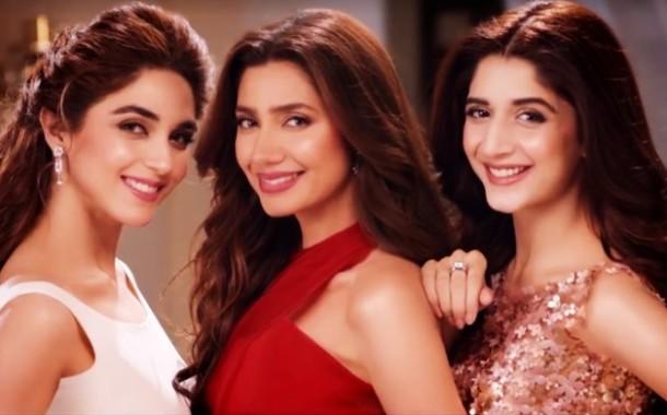 Mahira Khan, Mawra Hocane & Maya Ali in New Lux Tvc #MehkoHarPal