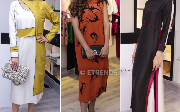 Hussain Rehar debuts his new collection with the launch of his design studio in Gulberg Lahore