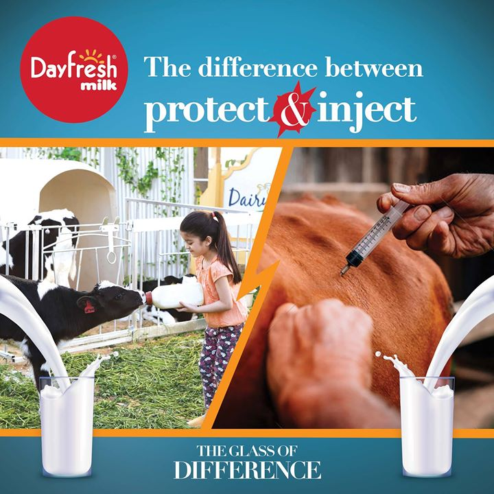 Dayfresh - Real Milk comes with a Glass of Difference