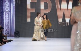 Misha Lakhani collection at Fashion Pakistan Week Winter/Festive 2017