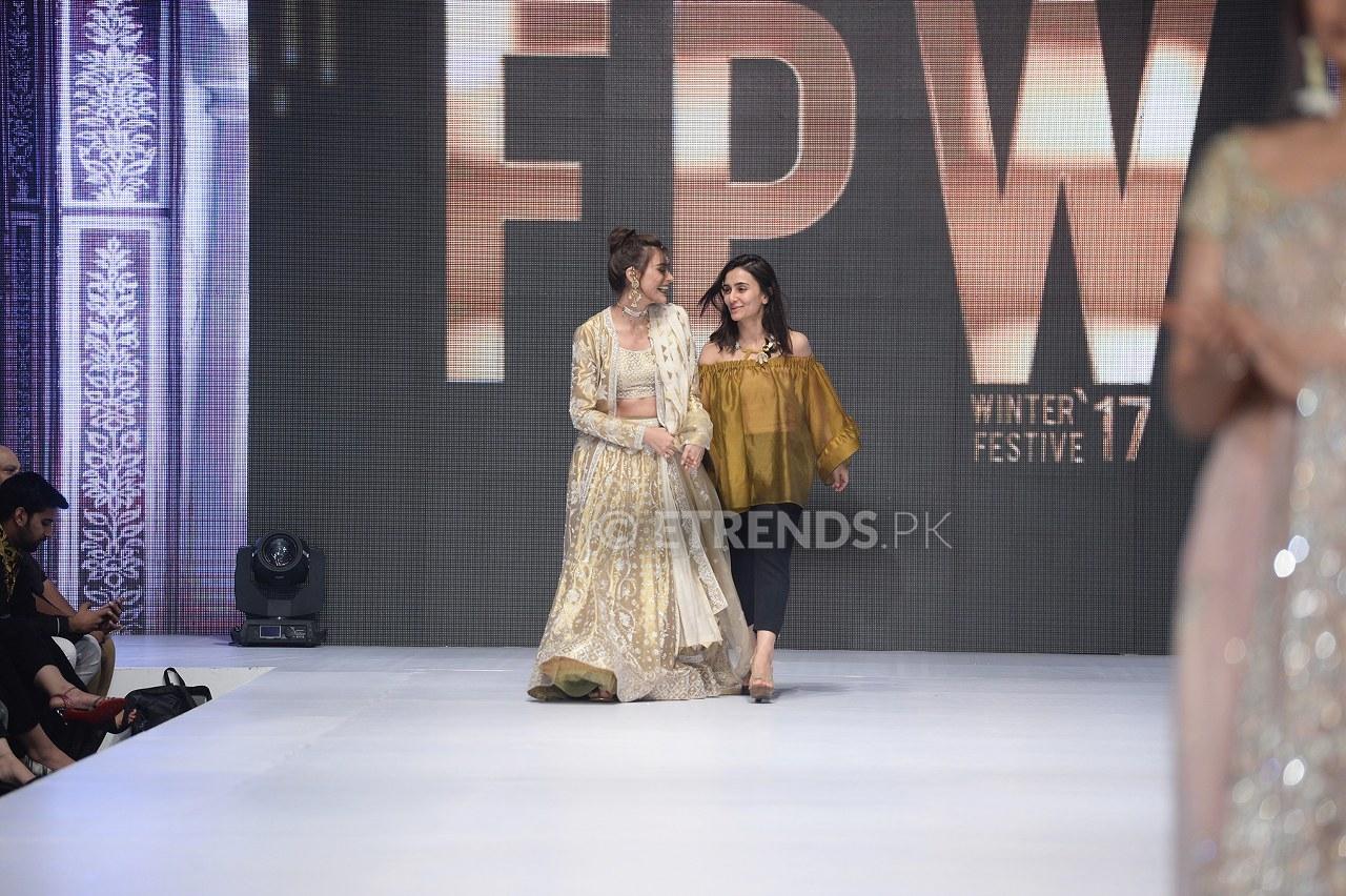 Misha Lakhani collection at Fashion Pakistan Week Winter/Festive 2017