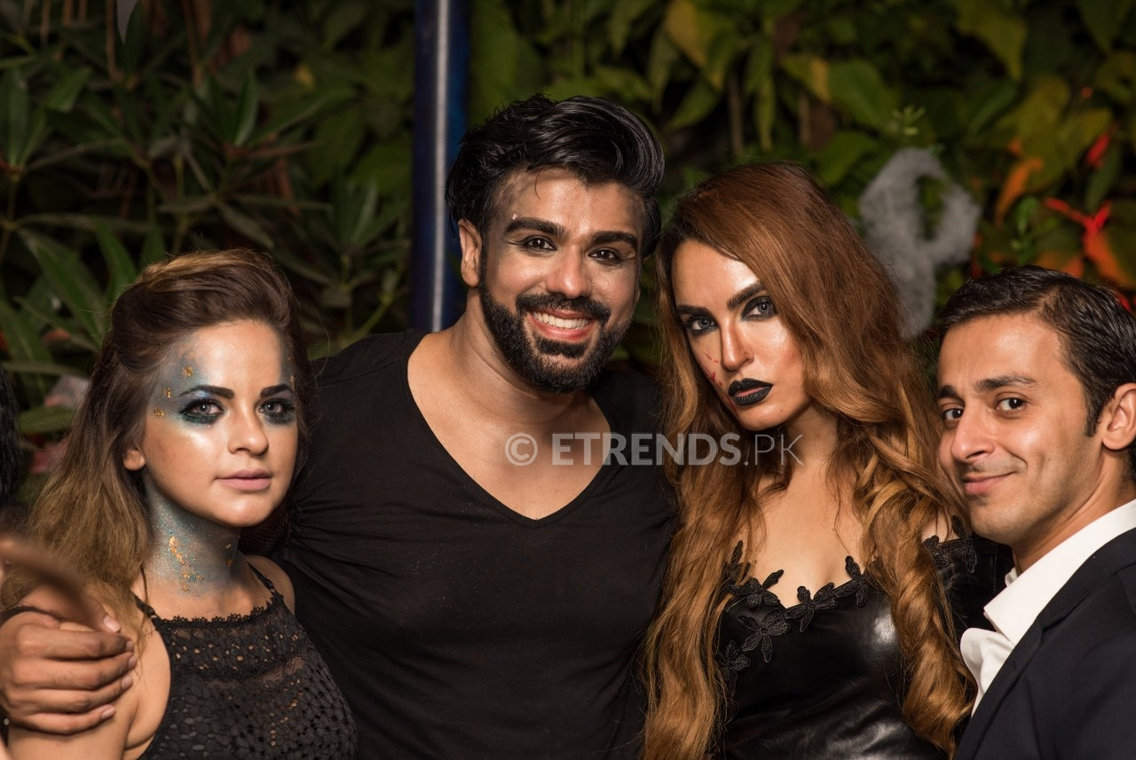 Junni Zeyad & Maria Wasti hosted star-studded Halloween's Monster Night in Karachi