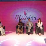 Sidra Iqbal and the three Miss Veet judges_1280x853