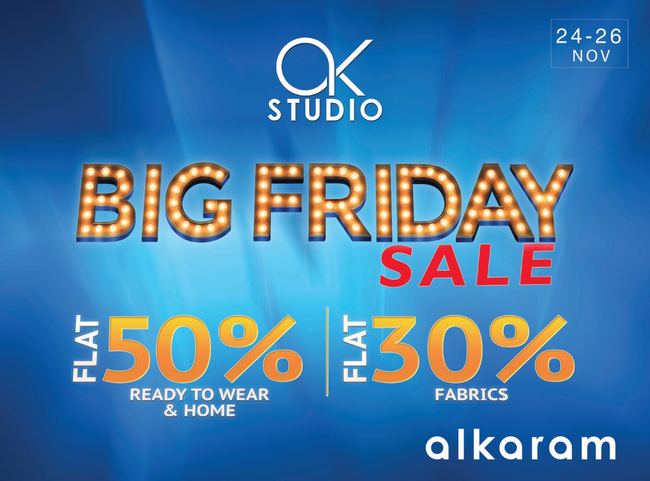 Alkaram Big Friday Sale is HUGE and EXCITING!