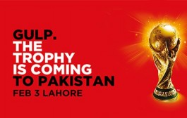 3rd February 2018 – Save The Date for FIFA Trophy Tour by Coca Cola Pakistan!