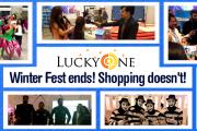 Lucky One Mall became super lucky for the new beginning of 2018