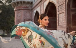 Sapphire launches spring lawn with Mahira Khan as Brand Ambassador